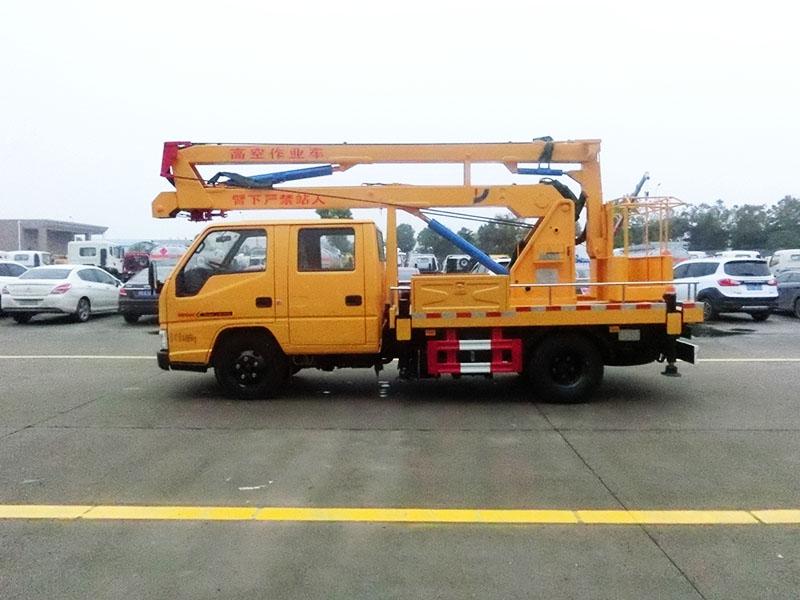 江铃12米曲臂高空作业车图片3