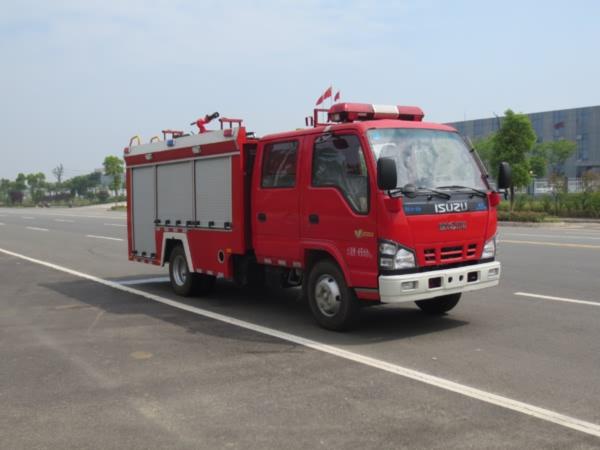 JDF5072GXFSG20/Q型水罐消防车