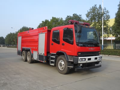 JDF5243GXFSG110型水罐消防车