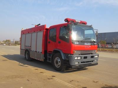 JDF5153GXFPM60型泡沫消防车