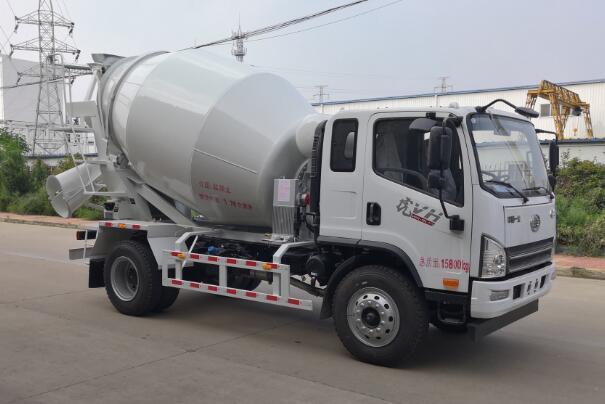 DLQ5160GJBLCA5型混凝土搅拌运输车