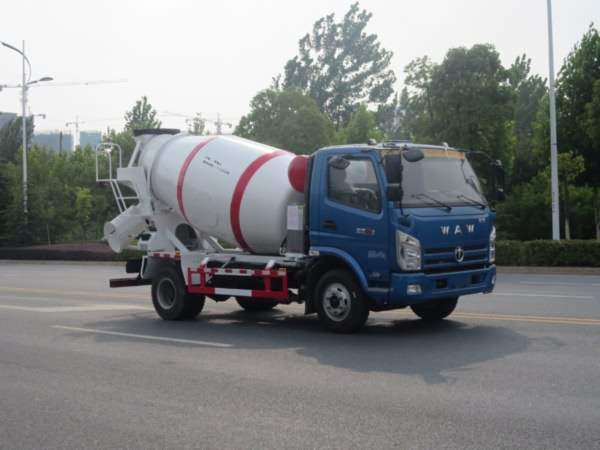 YZR5080GJBFD型混凝土搅拌运输车