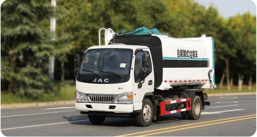 江淮自装卸式垃圾车