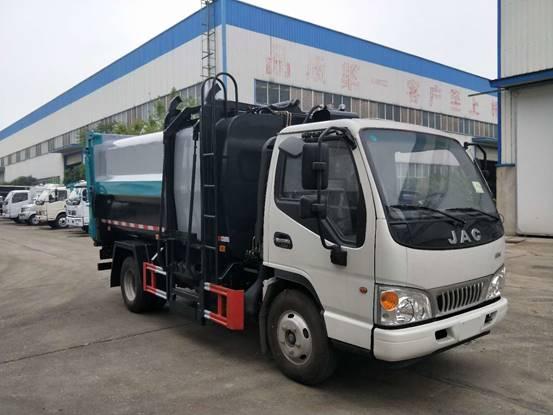 自装卸式垃圾车(江淮康玲系列)